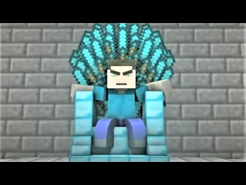 """Diamond King"" Minecraft Song and Minecraft Animation  Minecraft Song by Minecraft Jams"