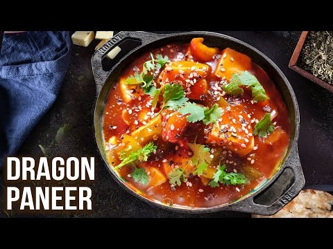 How to Make Dragon Paneer   Dragon Paneer Recipe   Quick Paneer Gravy   Sweet & Spicy Food   Varun