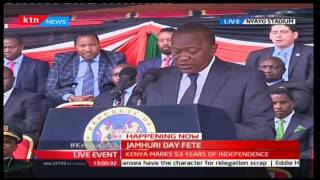 2016 JUMHURI DAY FETE - President Uhuru's message to Raila and Opposition
