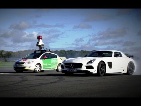 This Is What Happened When Google Raced Top Gear In A Street View Car