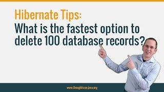 Hibernate Tip: The Fastest Option To Remove A List Of Entities