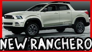 PHOTOSHOP 2022 Ford Ranchero Courier Compact Unibody Pickup Truck @ Fiat Toro Rival