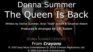 """Donna Summer - The Queen Is Back LYRICS - SHM """"Crayons"""" 2008"""