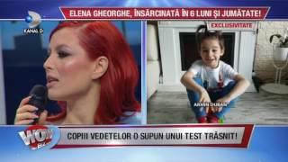 WOWBIZ (24.04.2017) - Elena Gheorghe, insarcinata in 6 luni! S-a ingrasat 1,5 kg
