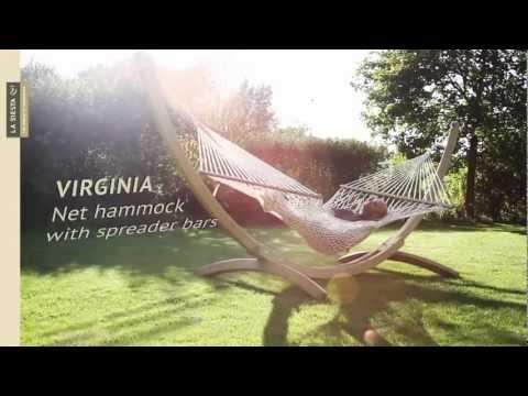 La Siesta Virginia Hangmat met spreidstok