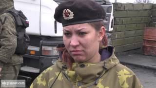 1 02 2015 Макеевка ДНР Новороссия 25 летняя девушка ополченец