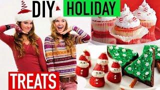 DIY Holiday Treats With Nina And Randa!