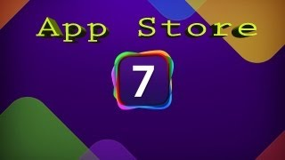 NEW iOS 7 APP STORE demo and FIRST LOOK