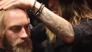 Mens Long To Short Extreme Hair And Beard Makeover