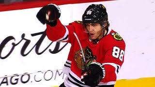 Patrick Kane's lethal wrist shot finishes off James Reimer, Panthers