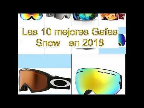 Las 10 mejores Gafas Snow   en 2018