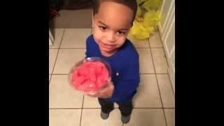 Adorable little boy vine ~ .....drinking watermelon ~ Best on the web!