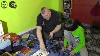Carrera Go!!! Fun Track mit Kamelbuckel u. 3D-Kreisel - Teil 1 - Der Aufbau