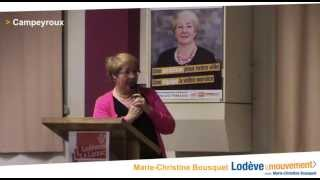 preview picture of video 'Lodève 2014 : Campeyroux, nouvelle salle pour les fêtes de famille'