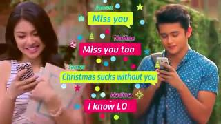 Text me merry Christmas by Jadine version