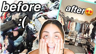 2020 EXTREME SPRING CLEANING: Organizing My Closet/Bedroom *crazy Transformation* | Roxette Arisa