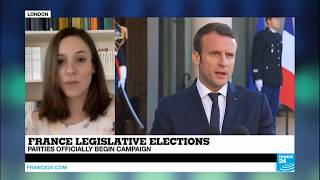 "France: ""Even if he gets 289 seats,  Macron will have to work with the center right and left """