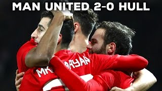 MANCHESTER UNITED 20 HULL CITY  FANCAMS  REACTION