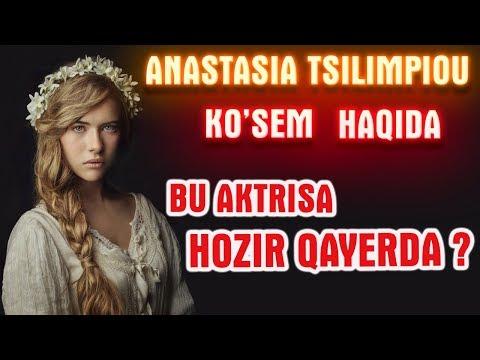 """Birinchi """"Ko'sem"""" hozir qayerda? Anastasia Tsilimpiou hayoti va ijodi haqida!"""