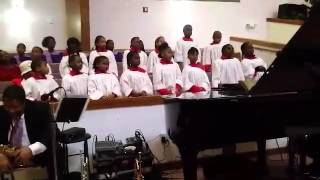 UBC Children's  Choir - Yes Jesus Loves Me