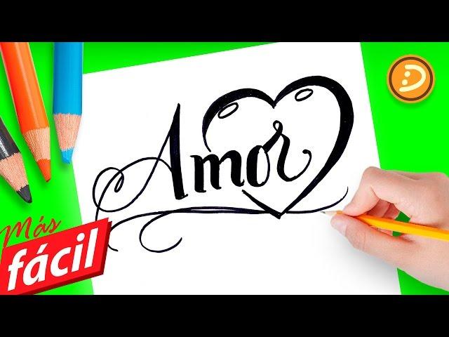 Video Dibujos faciles de amor, dibujos para colorear de amor faciles ...