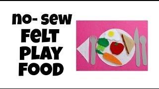 No-Sew Felt Play Food, Pintober #10