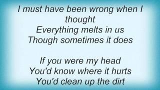 K's Choice - My Head Lyrics