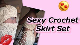 Crochet Skirt Set Tutorial (Part 2) - Skirt
