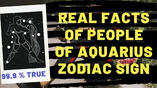 Must Know True Facts About Aquarius People As Per Astrology Of Zodiacs