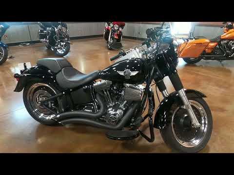 2014 Harley-Davidson Fat Boy® Lo in Mauston, Wisconsin - Video 1