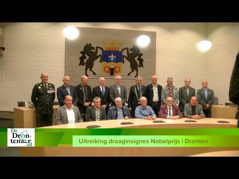 VIDEO | 16 Veteranen en militairen uit Dronten delen mee in Nobelprijs voor de Vrede
