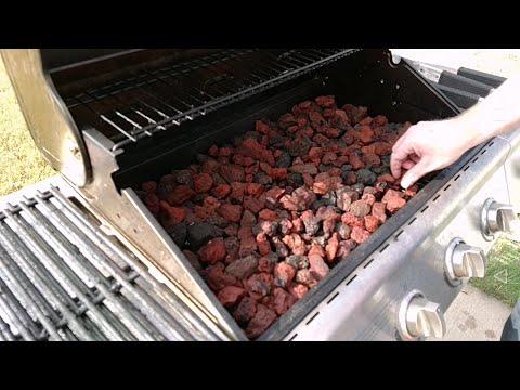 Lavastein Gasgrill Für Gastronomie : Tepro lavasteingasgrill irvine grillwagen mit rollen youtube
