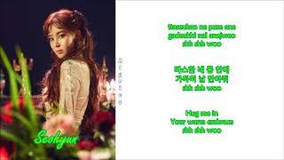 Seohyun - Moonlight (Rom-Han-Eng Lyrics)