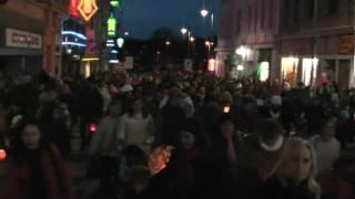 preview picture of video 'Svátek sv. Martina 2010 - Karlovy Vary'