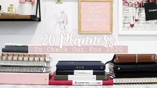 20 Planners To Check Out For 2020! || Simple Planners, Goal Setting Planners & More!
