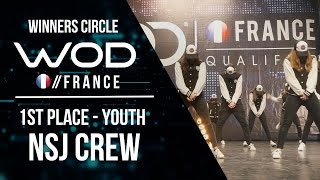 NSJ Crew | 1st Place Youth | World of Dance France Qualifier | Winners Circle | #WODFR17