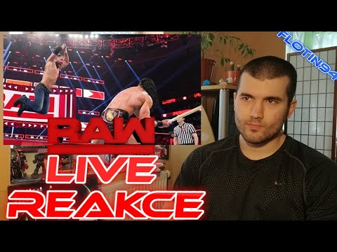 Dean Ambrose vs Drew McIntyre Last Man Standing RAW 03/25/18 LIVE REACTION