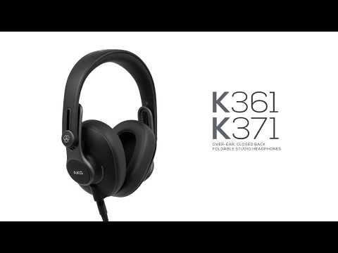 AKG K361 and K371 Foldable Studio Headphones