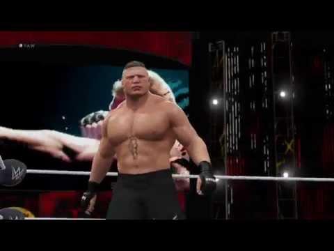 WWE 2K16: Brock Lesnar's Entrance thumbnail