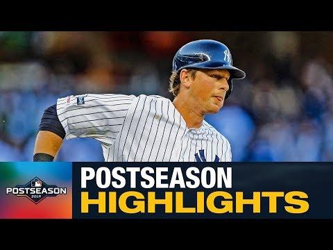 DJ LeMahieu 2019 MLB Postseason Highlights (Yankees star RAKES, bats .325 with 3 HRs and 7 RBIs)