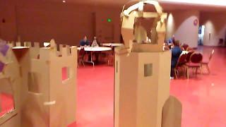 Cardboard castles overrun: Madison Children's Museum at Madison Mini Maker Fair