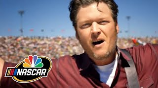 2015 NASCAR on NBC Open with Blake Shelton - dooclip.me