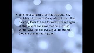 The Skye Boat Song (Outlander Theme Song)