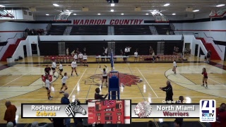 Volleyball Sectional Wabash vs Manchester