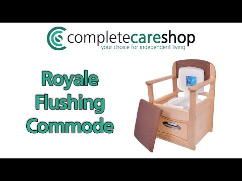 Video of the Royale Flushing Commode