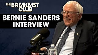The Breakfast Club - Bernie Sanders Talks Reparations, Prison Reform And His Black Agenda