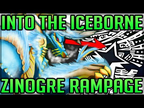 Zinogre in Monster Hunter World Iceborne - Where and How! (Discussion/Fun/Lore) #iceborne