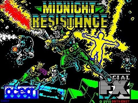 ZX Spectrum Longplay [025] Midnight Resistance