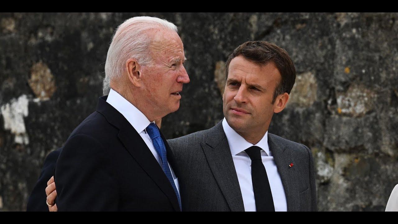 Crise des sous-marins : ce dont Biden et Macron ont convenu