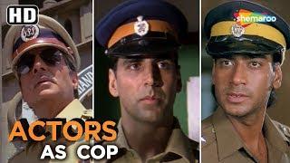 Top Bollywood Police Heroes   Action Scenes   Anil Kapoor   Sunny Deol   Mithun   Ajay Devgan